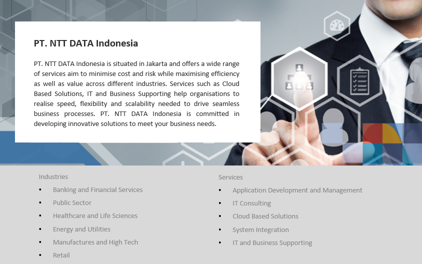 Ntt Data Indonesia Aino Indonesia